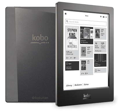 Kobo Aura H2O - The First Premium Waterproof eReader