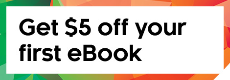 Get $5 off your first eBook