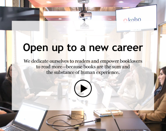 Kobo Jobs: Open up to a new career | Rakuten Kobo