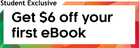 Get $6 off your first eBook