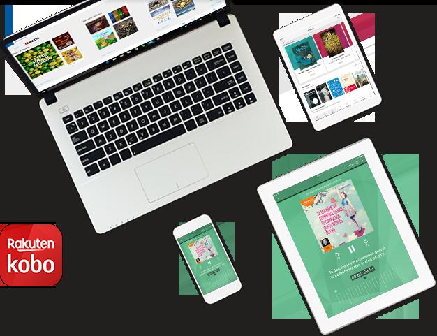 Appareils affichant des applications Kobo