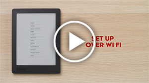 Setting up your eReader