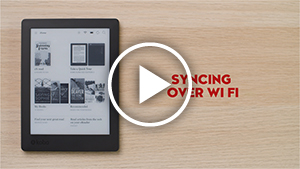 Syncing your eReader