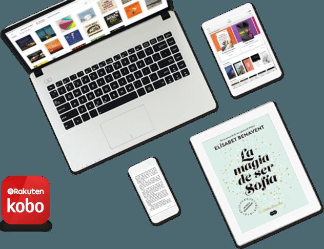 Dispositivos que muestran aplicaciones Kobo
