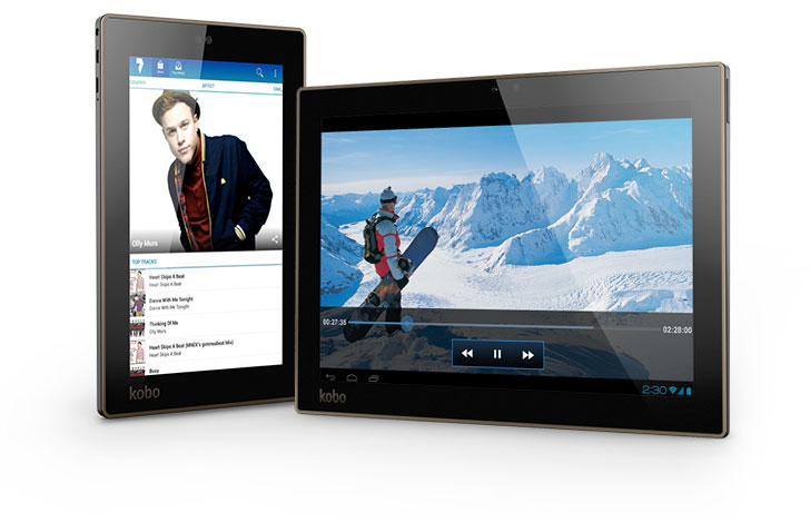 Kobo tablets are the ultimate devices for reading, multimedia and apps.