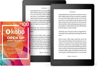 Win 2 Kobo Aura One Ereaders 100 In Kobo Gift Cards Rakuten Kobo